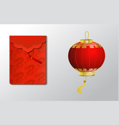 Red envelope packet vector
