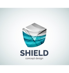 Shield logo business branding icon vector