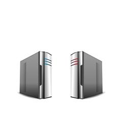 computer servers i vector image vector image