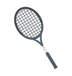 racket tennis equipment element icon vector image