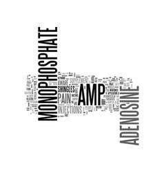 Adenosine monophosphate amp text word cloud vector