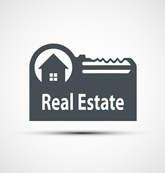 icon of real estate vector image vector image