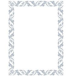 thai pattern frame vector image