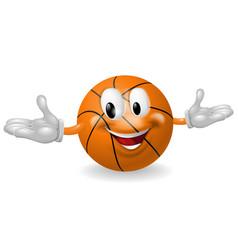 basket ball man vector image vector image