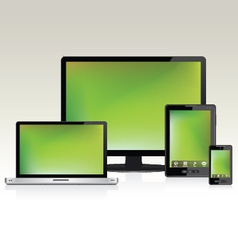 Device Set 1 vector image vector image