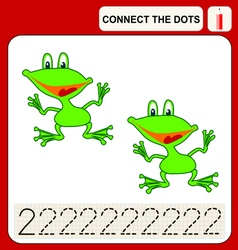 0915 13 connect the dots v vector image