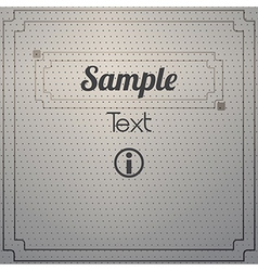 Dot texture vector image