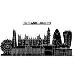 england london architecture city skyline vector image