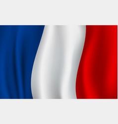 Flag france french national symbol vector