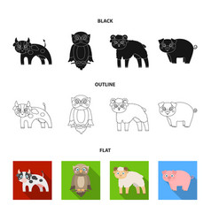 Forest ecology toys and other web icon in vector