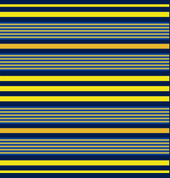 horizontal blue and yellow stripes print vector image