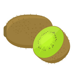 Kiwi cartoon vector