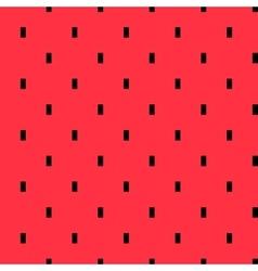 Watermelon pulp geometric pattern vector image