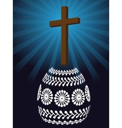 christian easter vector image