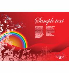 greeting card background vector image vector image