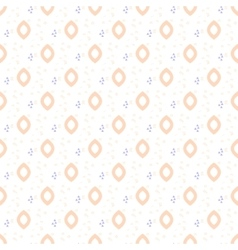 Oval drops tender seamless pattern vector image vector image