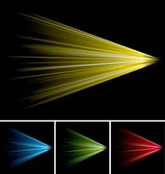 tunnel rush vector image