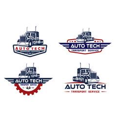 Automotive service logo concept vector