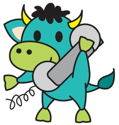 Bull Calling vector