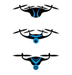 Drone set vector