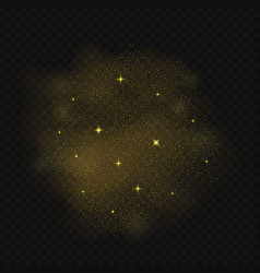 falling stars background vector image