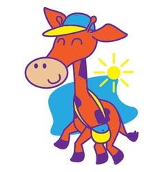 Giraffe School vector