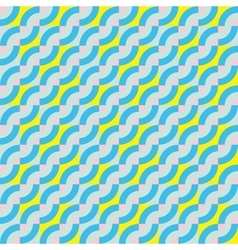 Pattern with diagonal waves vector image