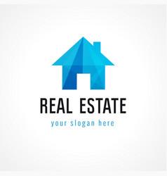 Real estate logo home vector