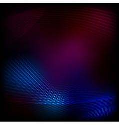 blend lines purple mesh vector image