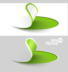 Creative labels vector image vector image