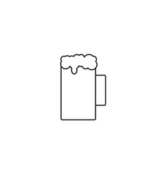 beer icon isolated beer symbol design eps 10 vector image