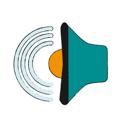 bullhorn or megaphone icon image vector image