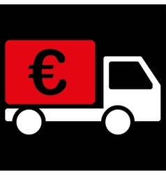 Collector car icon from BiColor Euro Banking Set vector image vector image
