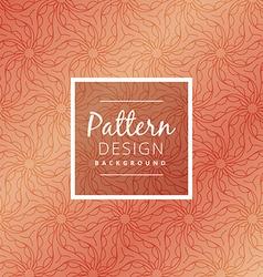 Creative organic pattern vector