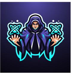 Esper esport mascot logo vector