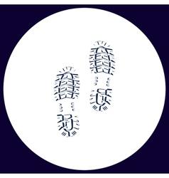 Imprints computer symbol vector