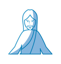 jesus christ icon vector image