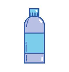 Liquit bleach in bottle design to clean vector