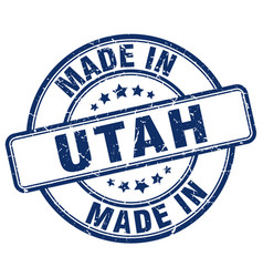 Made in utah vector