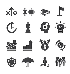 marketing strayegy icon vector image