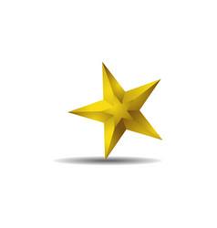 star icon logo vector image