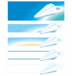 airmail vector image