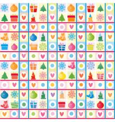 Christmas background wrapping paper vector image vector image