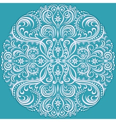 circle pattern color vector image vector image