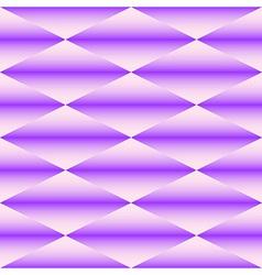 Geometric seamless pattern of rhombus vector image vector image