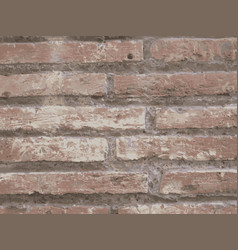 A brick wall vector