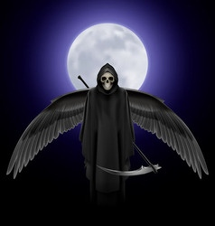Angel of death vector image