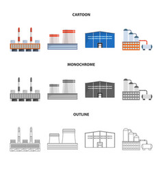 Design production and structure icon vector