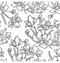 flower background for colored vector image