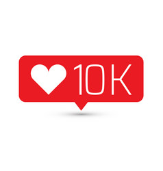 like follower icon one of set web icons vector image